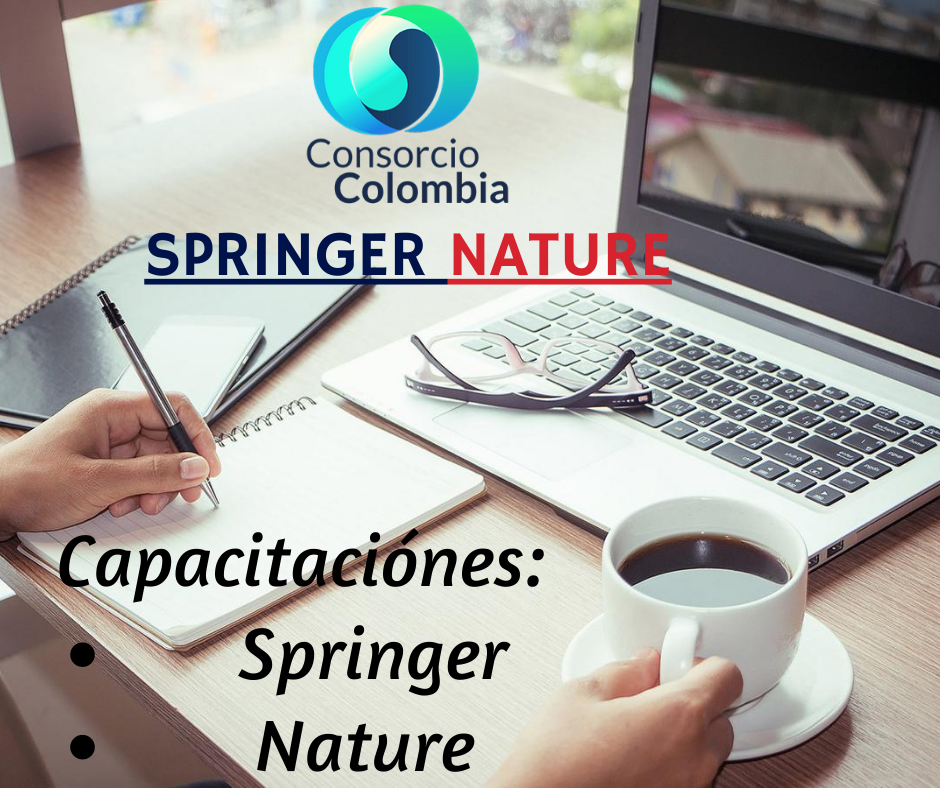 Consorcio Colombia: Entrenamientos Springer Nature.